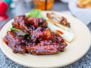 Sweet And Spicy Grilled Chicken Wings | Lotus Grill