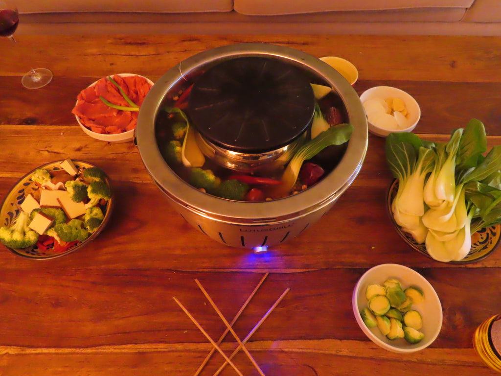 Hotpot Side Dish Recipe } Cobagrill } Lotugrill BBQ