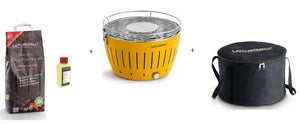 Lotus BBQ Grill starter kit (Yellow Grill)