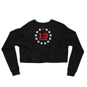 13 Stars Crop Sweatshirt