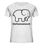Mini Elefantastesch - BIO Kannershirt