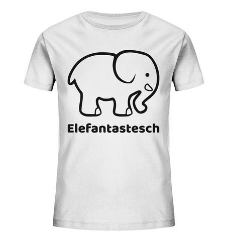 Mini Elefantastesch - Kids Organic Shirt
