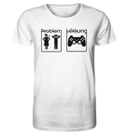 Gamer Problem/Léisung - BIO Unisex Shirt