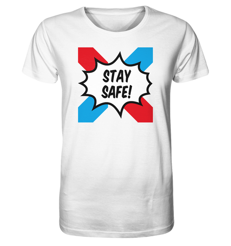 "Emoxie ""Stay safe"" - BIO Unisex T-Shirt"