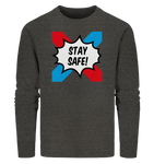 Emoxie Stay safe mett adults - BIO Männerpullover