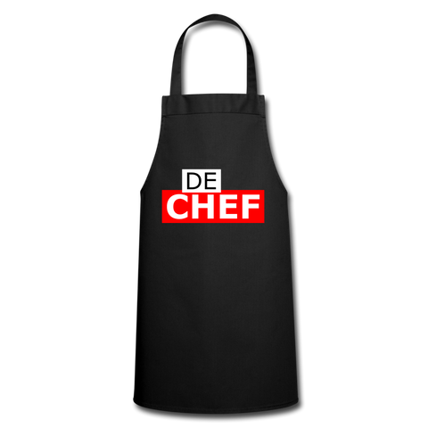 De Chef - Schiertech - black