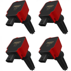 MSD Coil Packs Red Set Focus ST 2013-2018/Focus RS 2016-2018 MSD: 82594