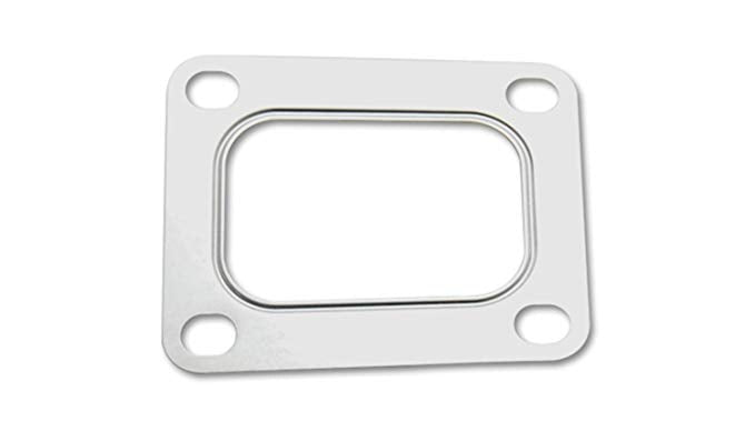 Vibrant Turbo Gasket for T04 Inlet Flange with Rectangular Inlet