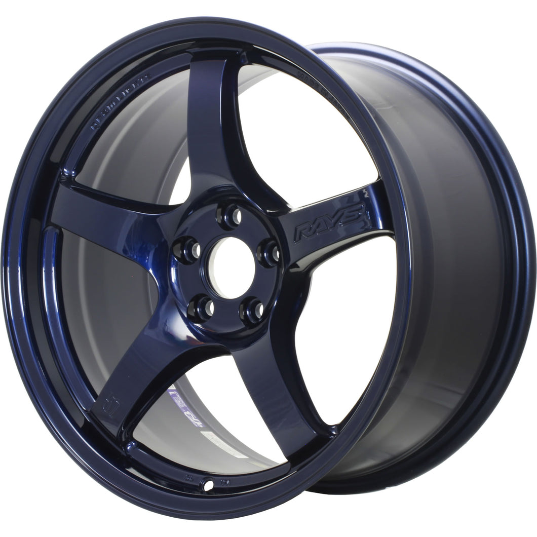 Gram Lights 57CR 18X9.5 +12 5X114.3 Eternal Blue