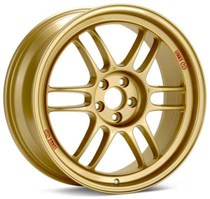 Enkei RPF1 17x9 5x114.3 45mm Offset 73mm Bore Gold Wheel