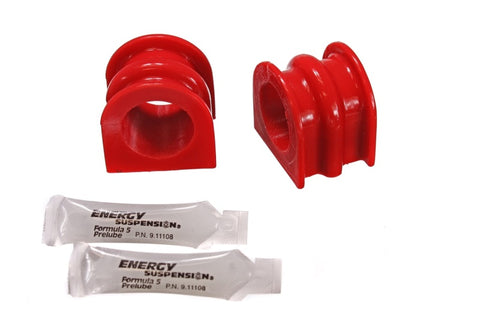 Energy Suspension 03-07 Infiniti G-35 Coupe RWD / 02-09 350Z Red 32mm Front Sway Bar Frame Bushings