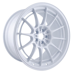 Enkei NT03+M 18x9.5 5x114.3 40mm Offset 72.6mm Bore Vanquish White Wheel