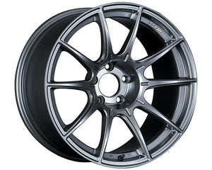 SSR GTX01 18x9.5 5x114.3 15mm Offset Dark Silver Wheel