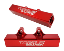 Load image into Gallery viewer, Torque Solution Top Feed Fuel Rails (07+ STI, 02-14 WRX)