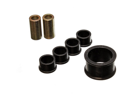 Energy Suspension 02-09 Nissan 350Z / 03-07 Infiniti G35 Coupe Black Rack and Pinion Bushing Set