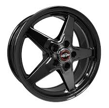 Race Star 18X5 Gloss Black Drag Wheel