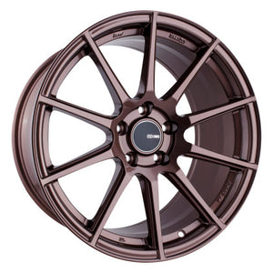 Enkei TS10 18x9.5 35mm Offset 5x114.3 Bolt Pattern 72.6mm Bore Dia Copper Wheel