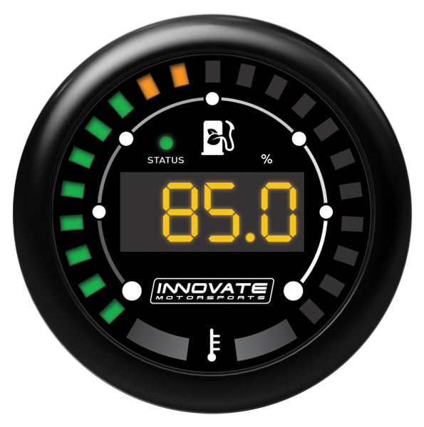 Innovate Motorsports MTX-D Ethanol Content Percent and Fuel Temp Complete Gauge Kit