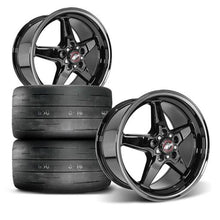 Load image into Gallery viewer, Race Star 17x9.5 Drag Star Dark Star (Set of Two)