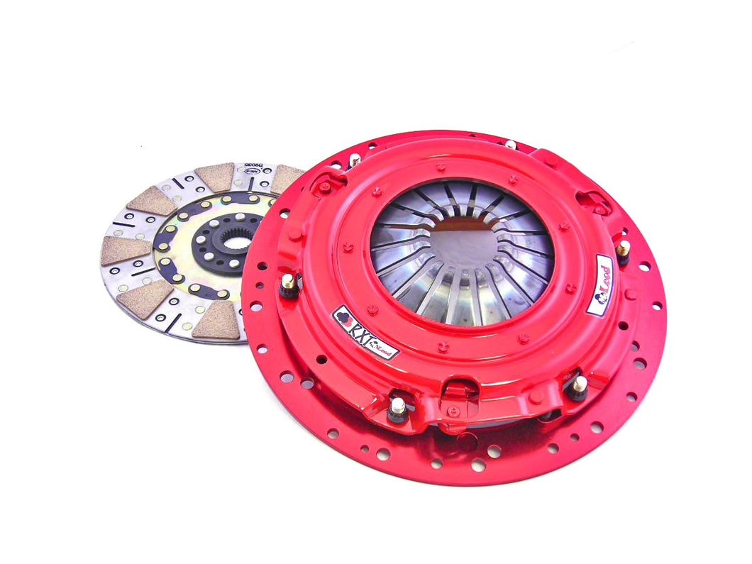 McLeod RXT Twin Disc 1000HP Ceramic Clutch Kit - 23 Spline (11-14 GT; 12-13 BOSS 302)