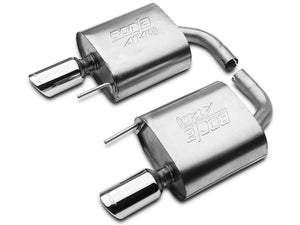 Borla ATAK Cat-Back Exhaust w/ Polished Tips (15-20 EcoBoost Fastback w/o Active Exhaust)
