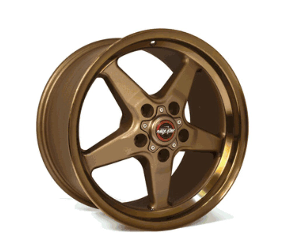 Race Star 15x10 Bracket Racer Wheel Ford Mustang 7.25BS Bronze 92-510154BZ