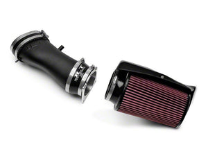 JLT 03-04 Ford Mustang SVT Cobra Black Textured Ram Air Intake Kit w/Red Filter