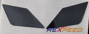 Rexpeed Evo X CF Wing Decal (PAIR)