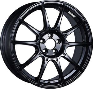 SSR GTX01 19x9.5 5x120 38mm Offset Flat Black Wheel