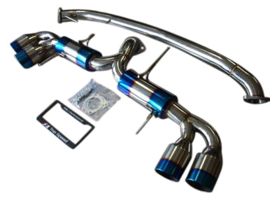 GTR R35 09-19 Top Speed Pro-1 STREET SPEC T304 Performance Exhaust System