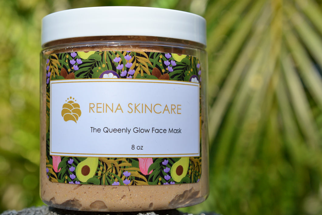Queenly Glow Face Mask