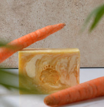 Load image into Gallery viewer, Turmeric & Carrot Cleansing Bar
