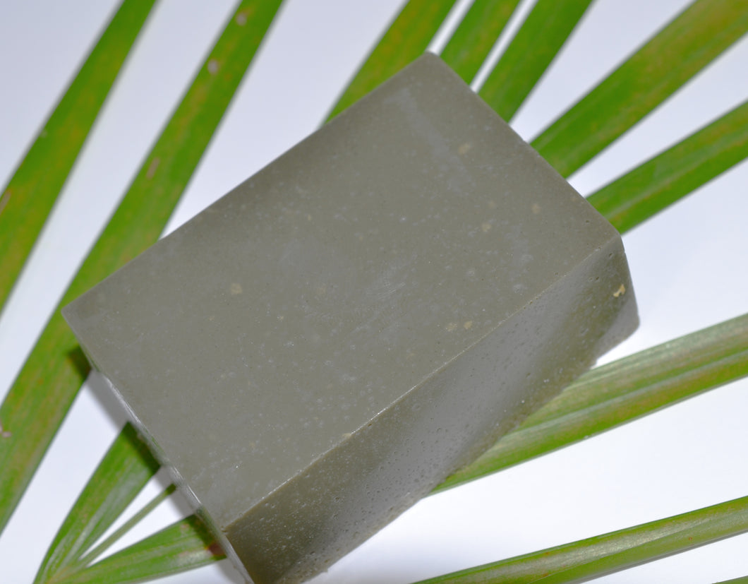 Green Clay Hemp Cleansing Bar