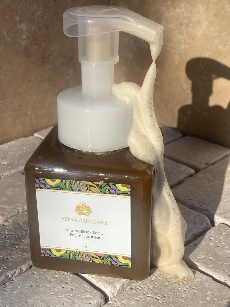 African Black Soap Foam Cleanser
