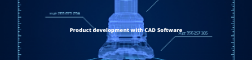 Product development with CAD software