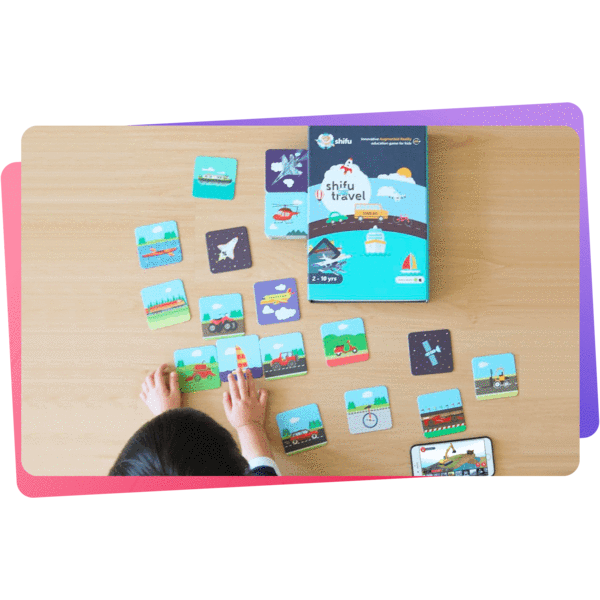 Shifu Travel - 4D Educational Augmented Reality based card game | Explore the World in 4d|