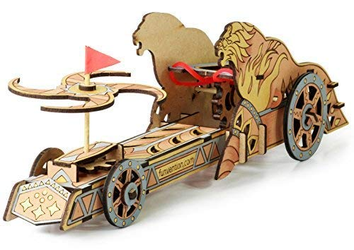 Funvention -  Da Vinci Chariot - Build Your Working Mechanical Model