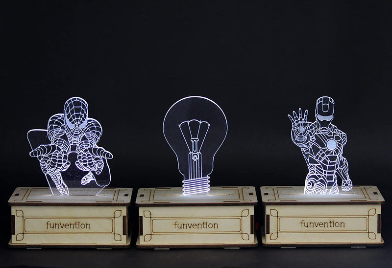 Funvention -  3D Holographic DIY Lamp