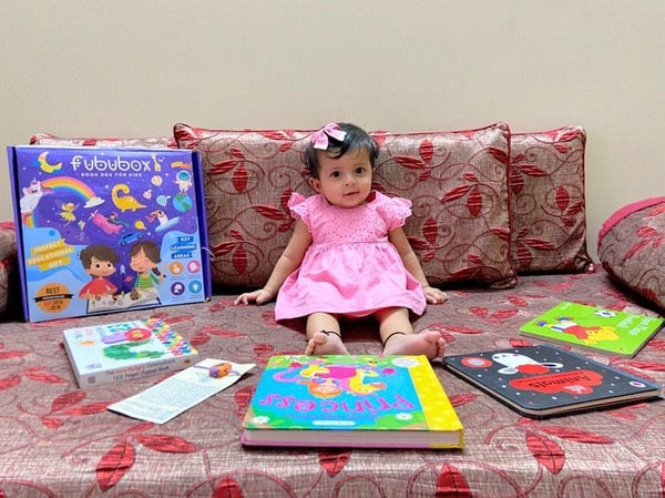 Books for 0 - 2 years old - 2 Months Subscription