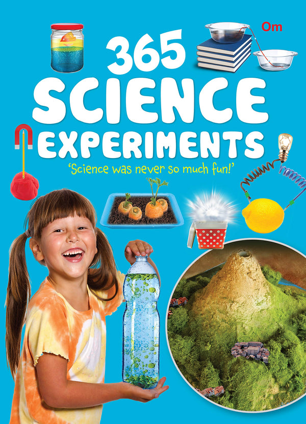 365 Science Experiments using easy to find materials