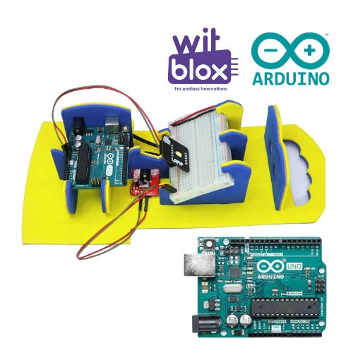 Arduino robotics classes with WitBlox for 10 years and above