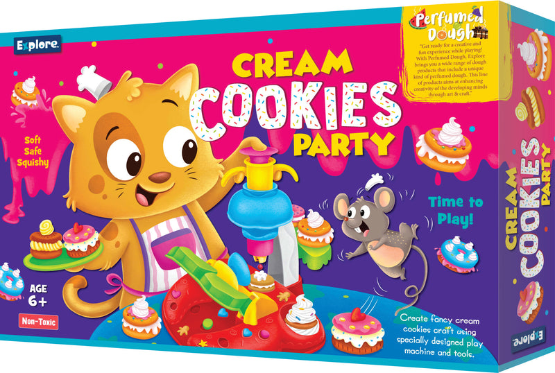 Science experiment kit - Cream cookies party