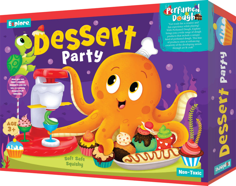 Science experiment kit - Dessert party
