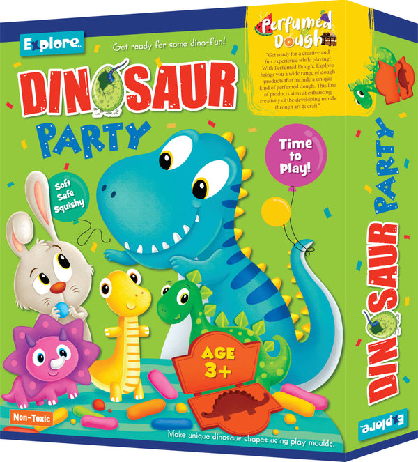 Smart young minds - Dinosaur party