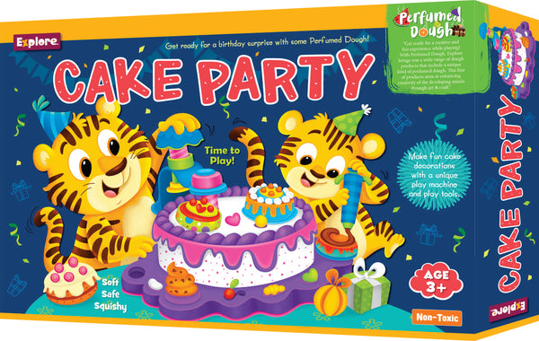 Science experiment kit - Cake party