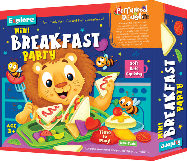 Science experiment kit - Mini breakfast and mini cupcake party