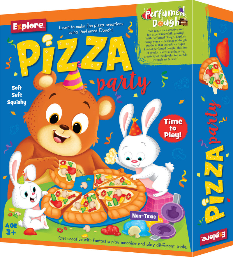 Science experiment kit - Pizza party