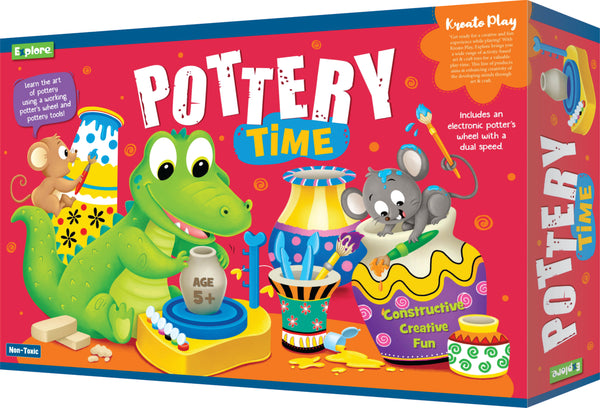 Science experiment kit - Pottery time