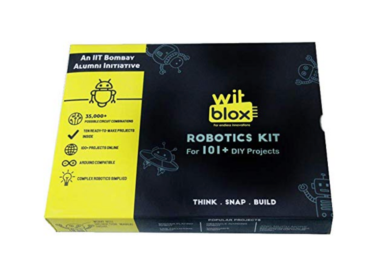 Robotics - WitBlox Mega DIY Robotics Kit for 101 Projects