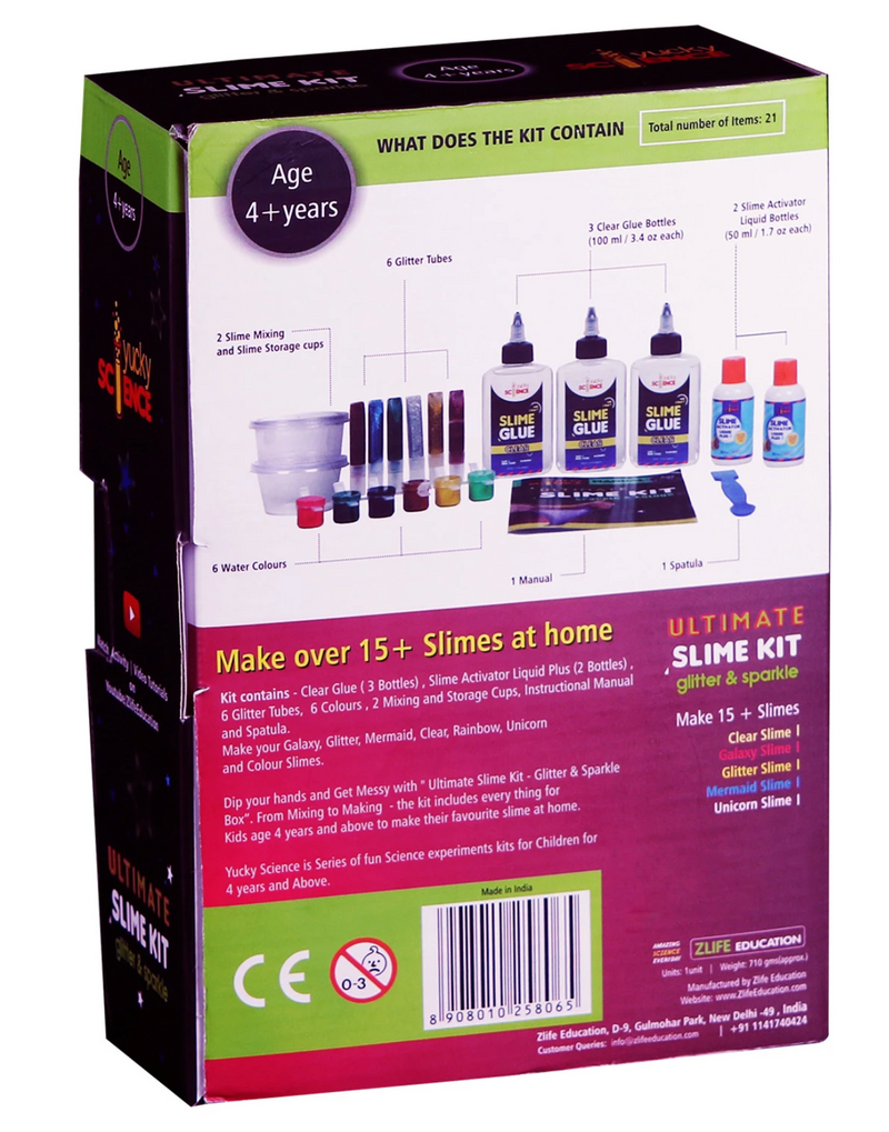 Science experiment kit - Yucky Science Ultimate Slime Making Kit